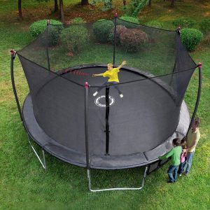 Learn about the spring free trampoline types